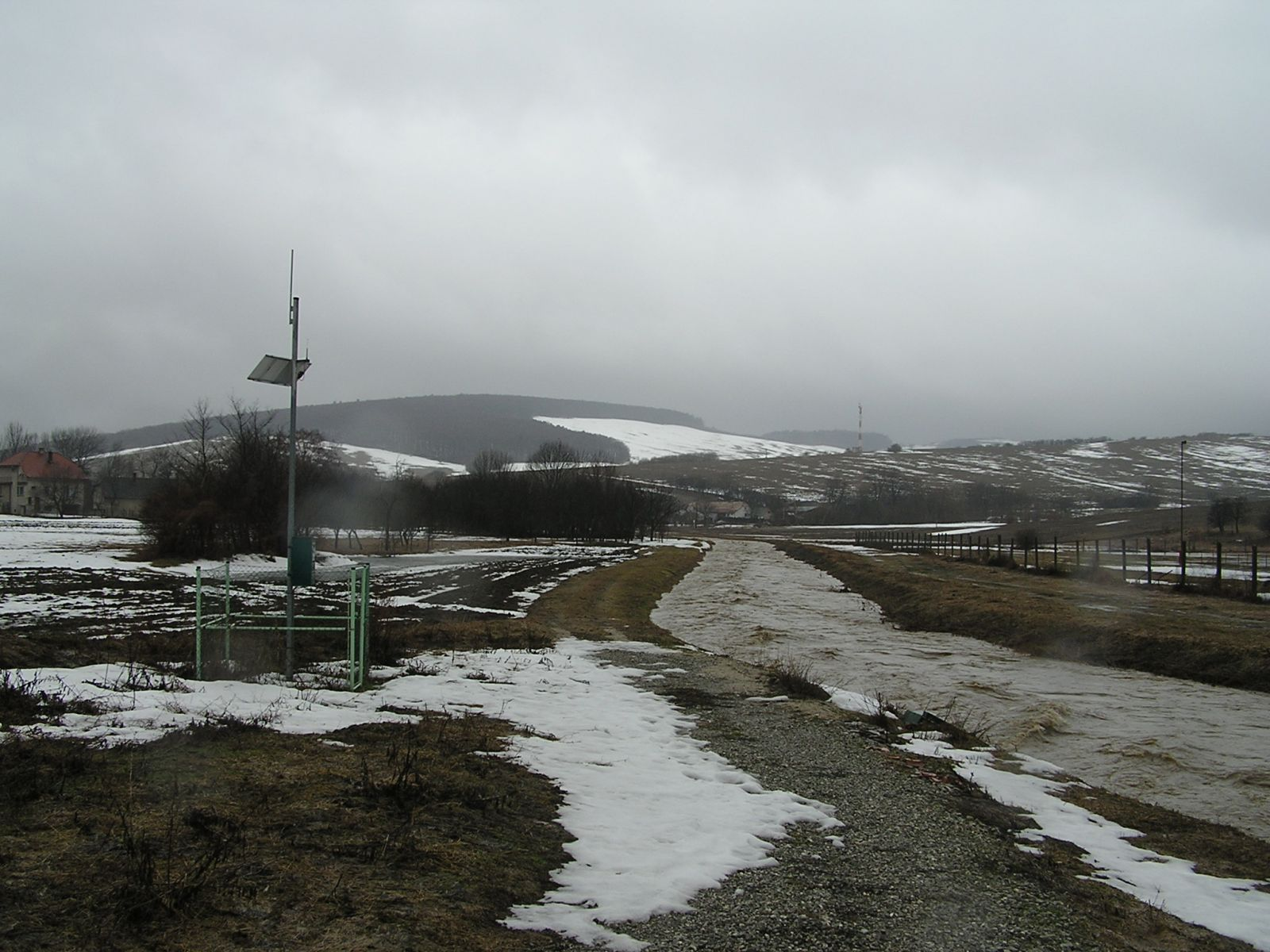 Snehové povodne v povodí myjavy v roku 2006